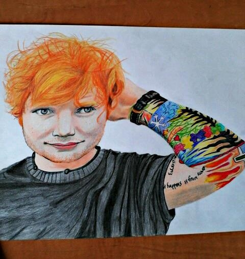Ed Sheeran by koala.04